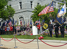 May 2016 - Law Enforcement Memorial in Concord