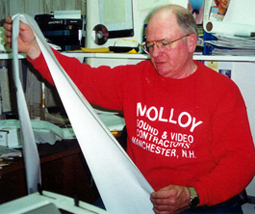 Bob Molloy of Molloy Sound and Video:  Reagan may have paid for the microphone, but Bob Molloy owned it.